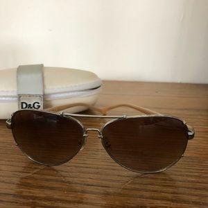 D&G aviator sunglasses